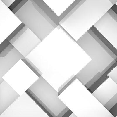 Картина 3d блоки структура фона. Векторная иллюстрация.
