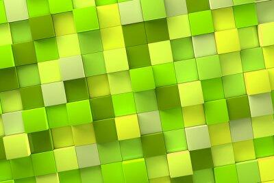 Картина Фон 3d куб