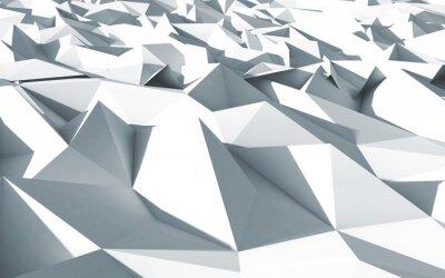 Картина 3d Polygone кавалер cristaux любят текстуры Блан