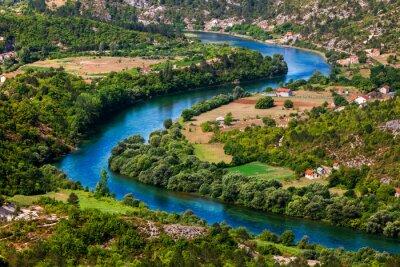 Картина Изгиб реки
