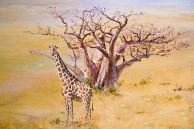 Картина Жираф, Кения
