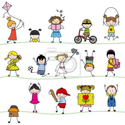 Группа маленьких детских