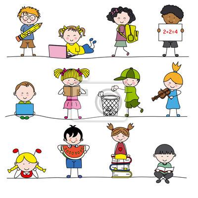 Группа маленьких детей