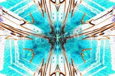 Картина Звезда абстракция symetric