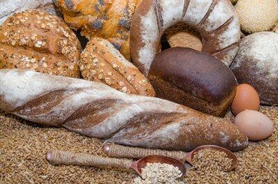 Картина Разнообразие хлебобулочных изделий