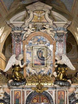 Abbazia Grottaferrata iconostasi