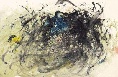 Картина Абстрактный фон картины или искусство