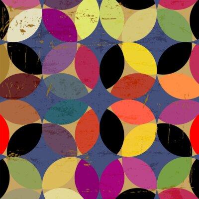 Картина абстрактный узор круг