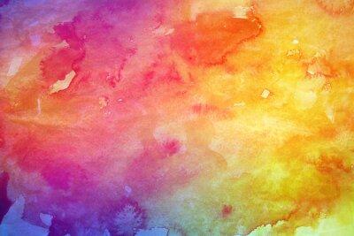 Картина Абстрактный красочный фон акварелью для графического дизайна