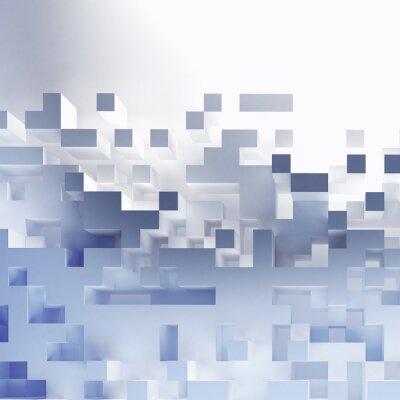 Картина Аннотация кубов обои
