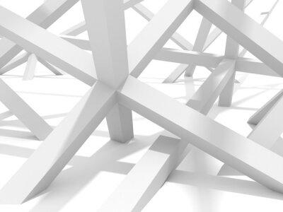 Картина Абстрактный футуристический Архитектура элемент дизайна Фон