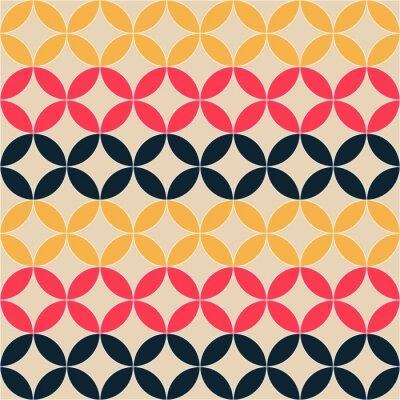 Картина абстрактных геометрических художественный рисунок
