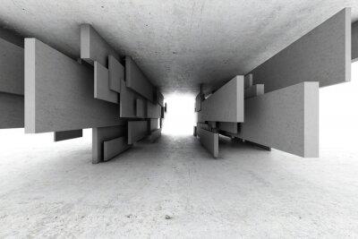 Картина Абстрактный геометрический фон