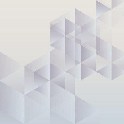 Картина Аннотация геометрических фон, современный дизайн треугольной