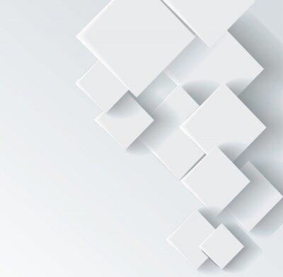 Картина Аннотация геометрической формы из серого ромба