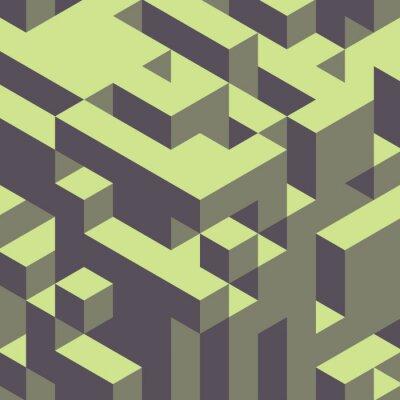 Картина Аннотация геометрической 3d красочный фон.