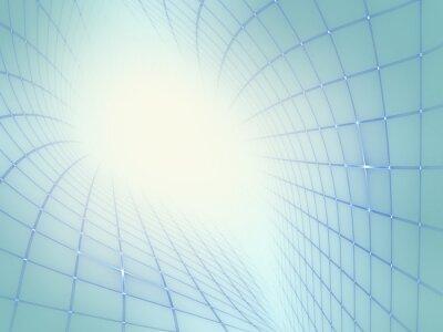 Картина Абстрактный современный техно фон