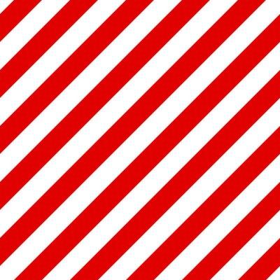 Картина Абстрактный бесшовные диагонали полосатый фон с красной и белой ул