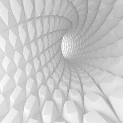 Картина Аннотация спираль Туннель Рендер