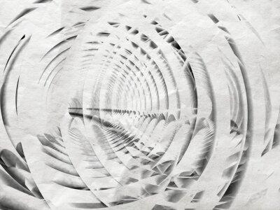 Картина Аннотация белый спираль фон иллюстрация