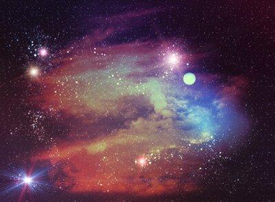 Картина Отвлеченный космический фон