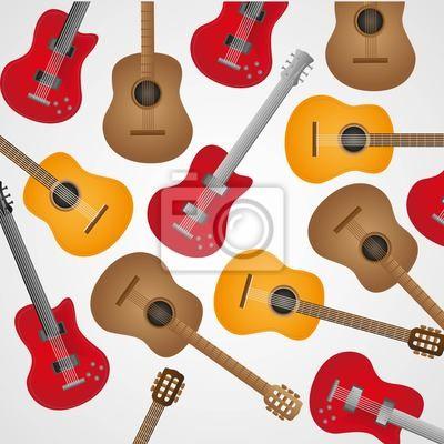 акустические и электрогитары