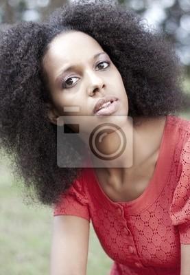 Картина Африканский девушка