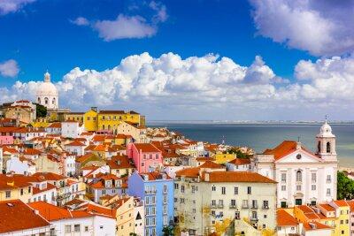 Картина Алфама Лиссабон Городской