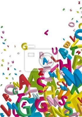 Картина Alfabeto