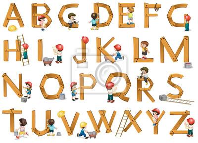 Картина алфавиты