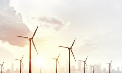 Картина Альтернативная энергия ветра