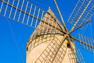 Картина Старая ветряная мельница