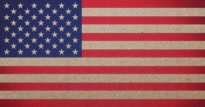 Картина американский флаг