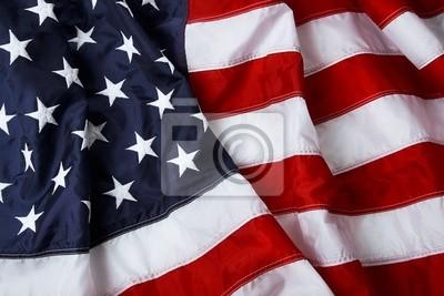 Американский флаг фон - выстрел и зажгли в студии