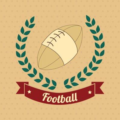 Картина американский футбол