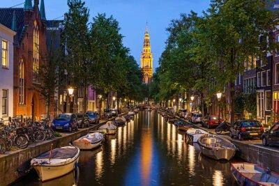 Картина Амстердам каналов
