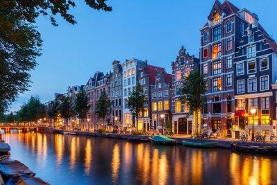Картина Каналы Амстердама.