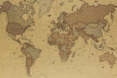Картина Карта Древний мир