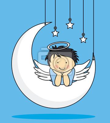 Ангел на Луне