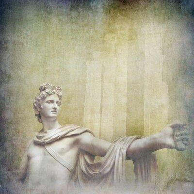Картина Античный эллинистического скульптуры на фоне гранж