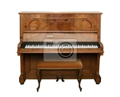 античный фортепиано с пути
