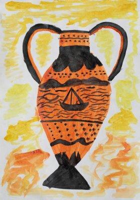 Картина Античная ваза