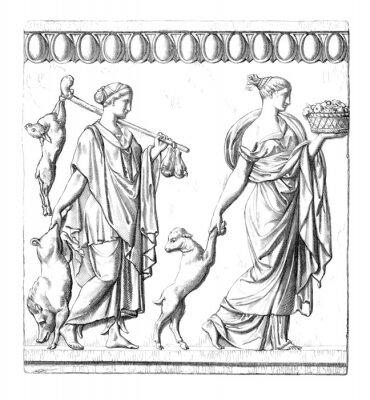 Картина Античность: римские Женщины