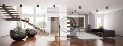 Интерьер квартиры панорама 3d