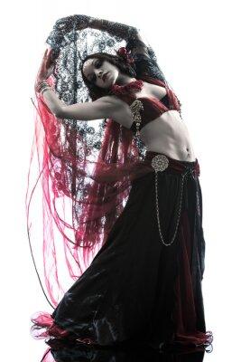 Картина арабский женщина танцовщица танца живота