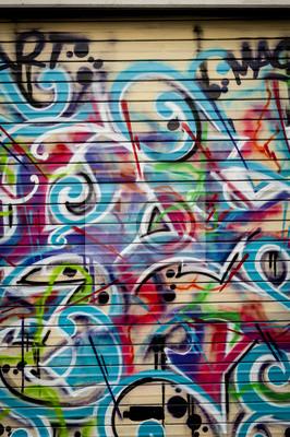 Картина План COLORE граффити Холмы