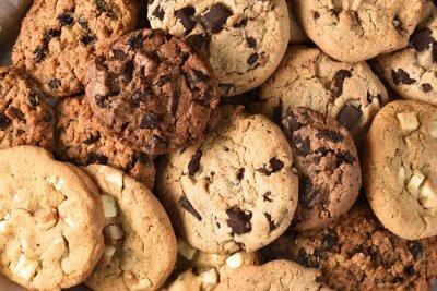 Картина Ассорти печенья Крупным планом