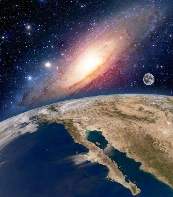 Картина Элементы этого изображения, предоставленную NASA.