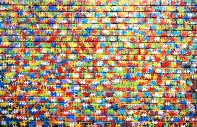 Картина Цвет фона уличного граффити на кирпичной стене