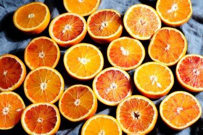 Картина фон из апельсинов